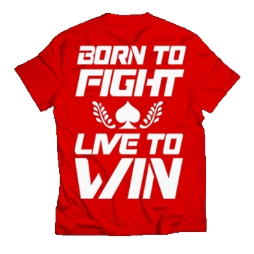 CAMISETA REDGLOVE FIGHTERS
