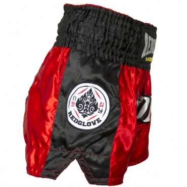 PANTALÓN MUAY THAI RED/WHITE