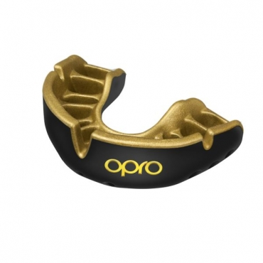 PROTECTOR BUCAL PROFESIONAL OPRO UFC GOLD black